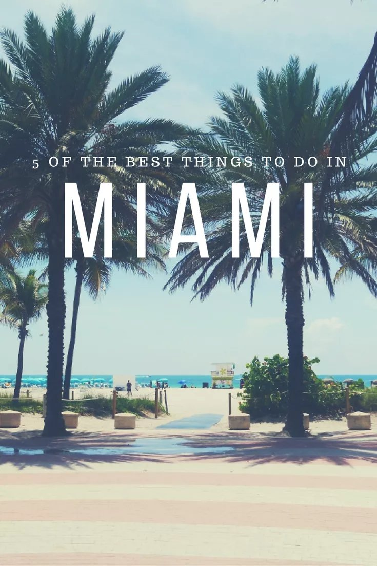 There's more to Miami than beautiful people strutting along South Beach, here are 5 things to do for a more authentic experience in this cultural hot spot