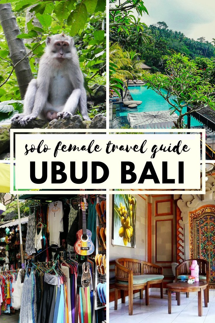 With it's friendly locals, incredible landscapes and delicious food, Bali's cultural capital of Ubud is the perfect place for a solo female traveller.