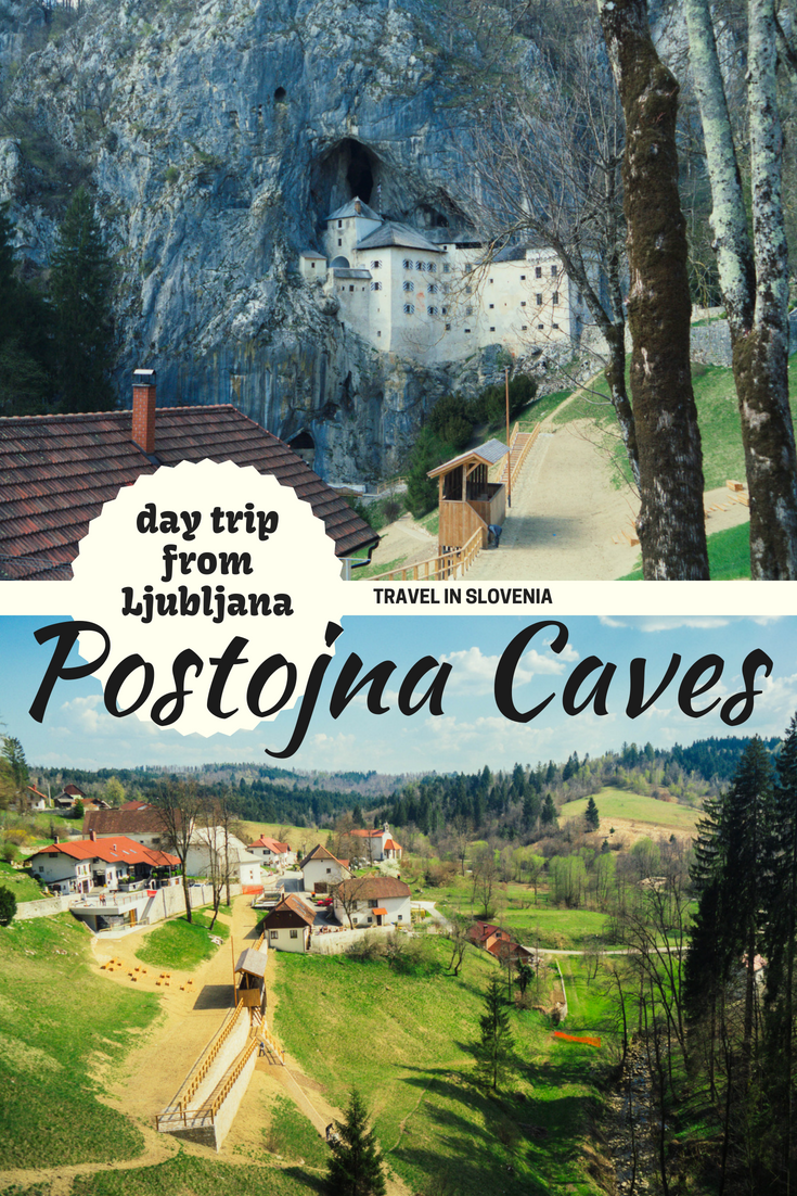Slovenia is a country full of caves and castles and some of the best ones can be found in Postojna, which makes it the perfect day trip from Ljubljana!