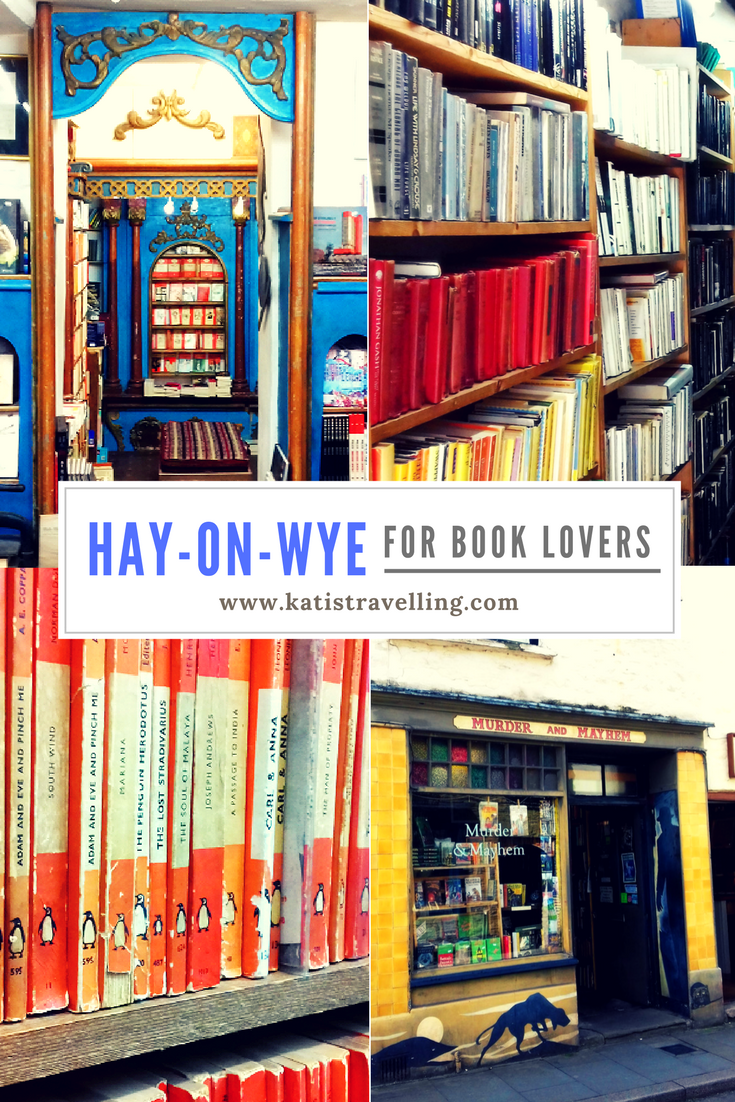 Hay-on-Wye, near Wales in the heart of the English countryside, is home to a literary festival and more second-hand bookshops than you can shake a stick at... no wonder bookworms love it!