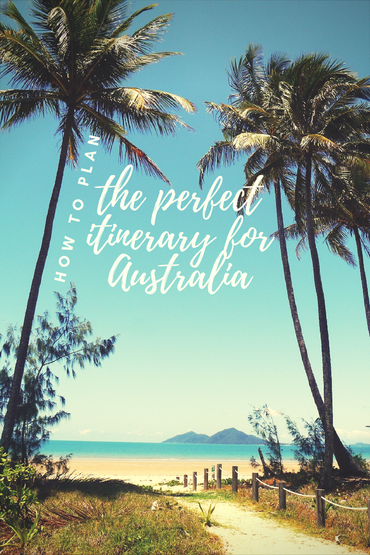 Taking a once in a lifetime trip down under? You're going to want to plan your perfect itinerary for your holiday in Australia so you don't miss a single thing!