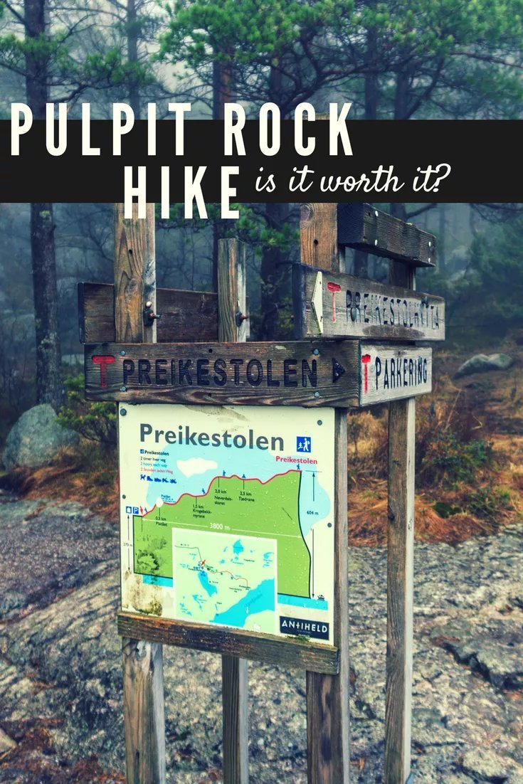 This April I decided to tackle one of Norway's most popular hikes... Pulpit Rock (or Preikestolen) in Stavanger. It is a fairly strenuous 4 hour round trip, but is it worth it?