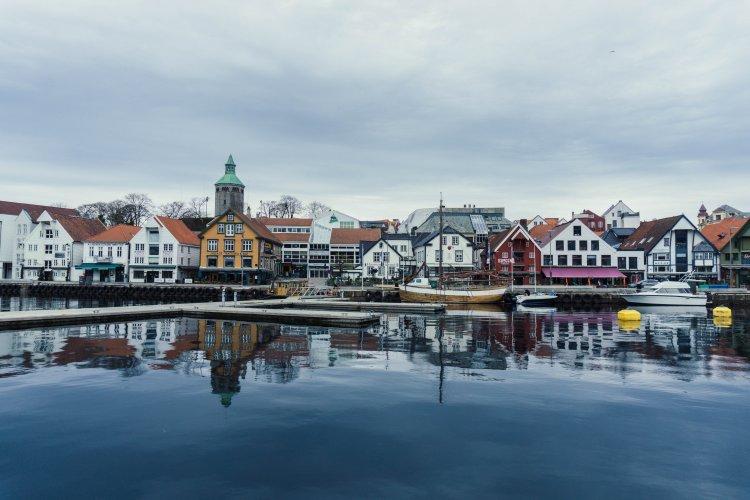 Image of Stavanger harbour in Norway