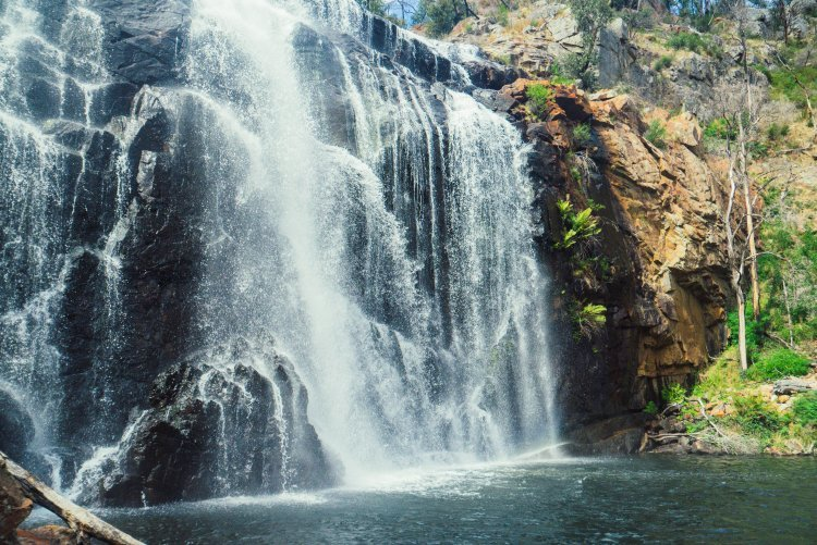 Image of mackenzie falls waterfall in grampians national park australia
