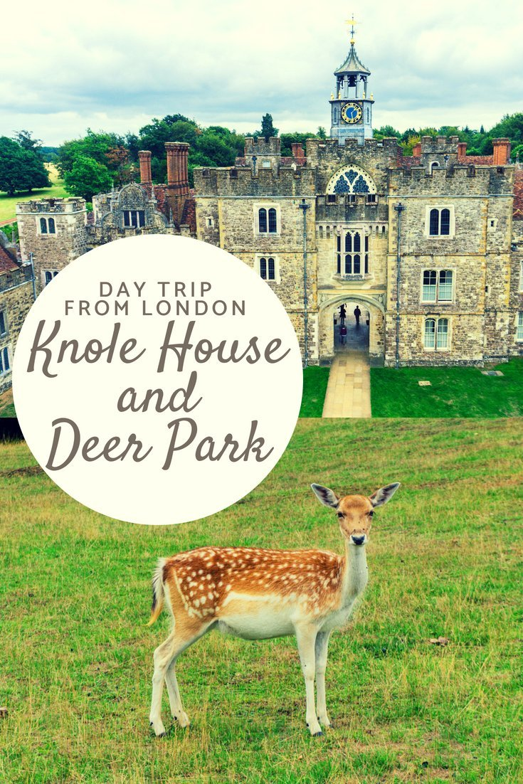 Knole House and deer park is the perfect day trip escape from London to experience the history, nature and wildlife of the English countryside.