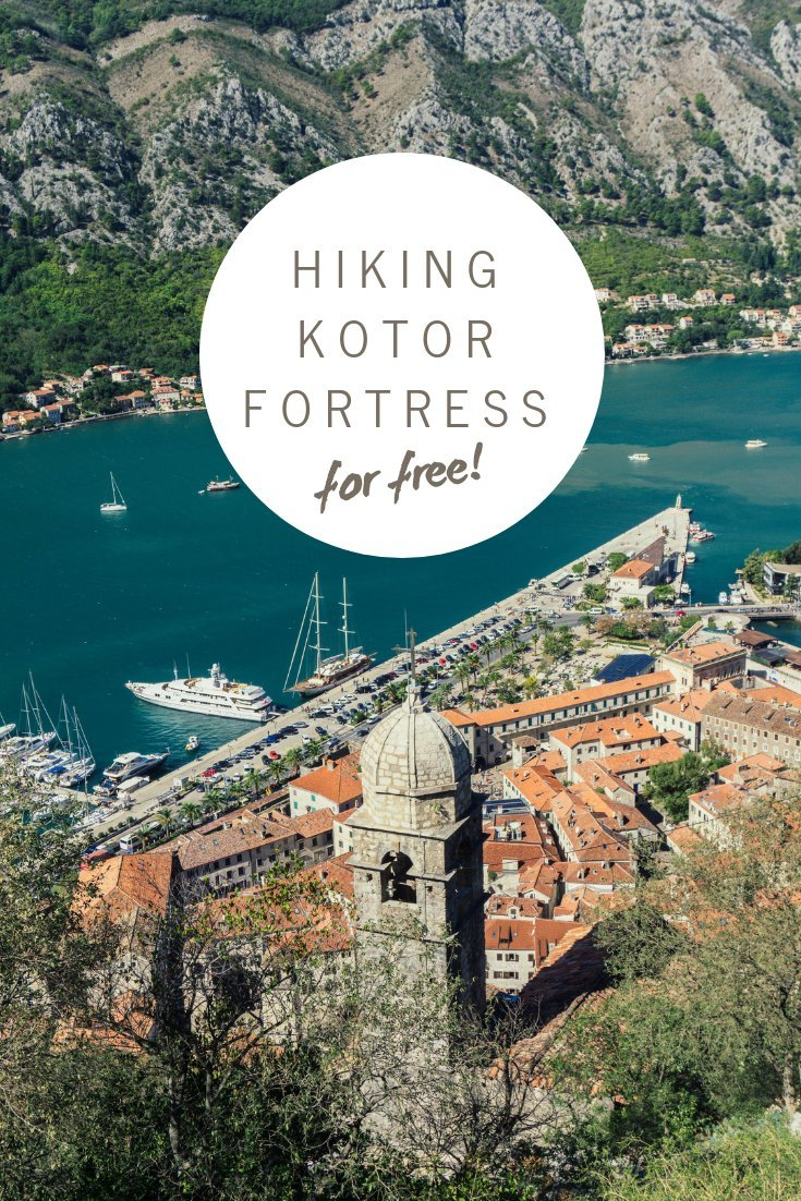 The hike to Kotor fortress is one of the best things to do in Montenegro and, if you're on a budget, this is how you can bypass the expensive entrance fee.