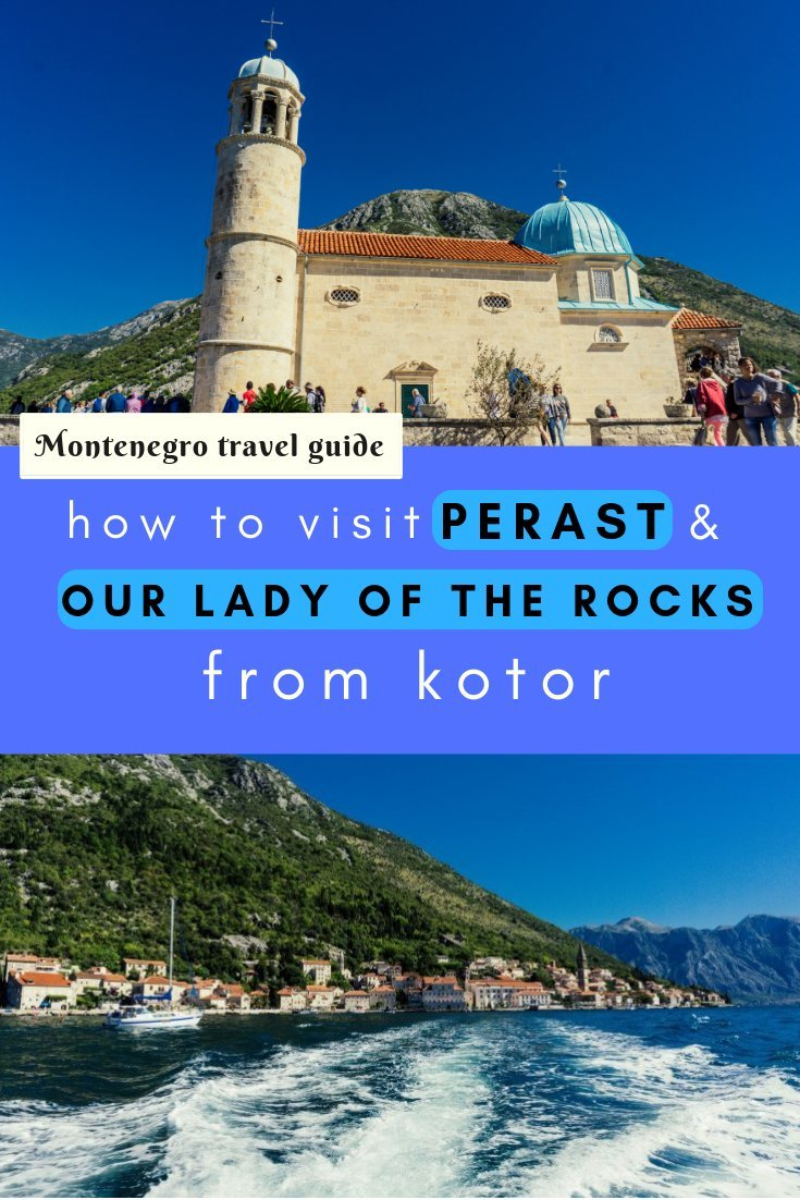 If you're staying in Kotor then a day trip to Perast and Our Lady of the Rocks is a must for amazing views and to see a different side of Montenegro!
