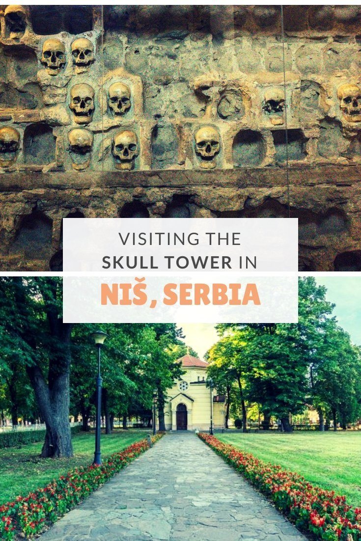 Just outside the small city of Niš in Serbia is the macabre Skull Tower - a historic symbol of Serbia's struggle for independence worth visiting.